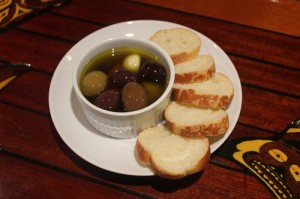 Marinated Olives in oil