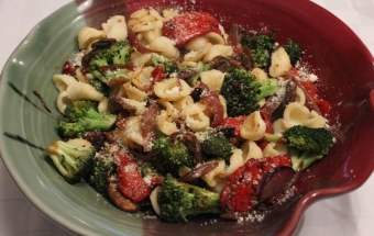 Orecchiette with vegetables - 3 reduced