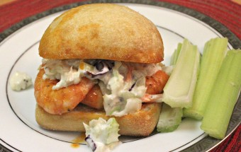 Buffalo Shrimp Sliders